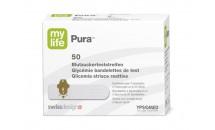 Bandelettes de test mylife Pura, boîte de 50 unités