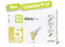 mylife Clickfine DiamondTip 5mm (31G), Packung à 100 Stück