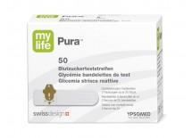 mylife Pura Teststreifen, Packung à 50 Stück