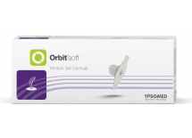 mylife Orbit soft Universal (Base de la canule), 9 mm canule flexible, boîte de 10 unités